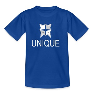 Unique White logo - Kinder T-Shirt