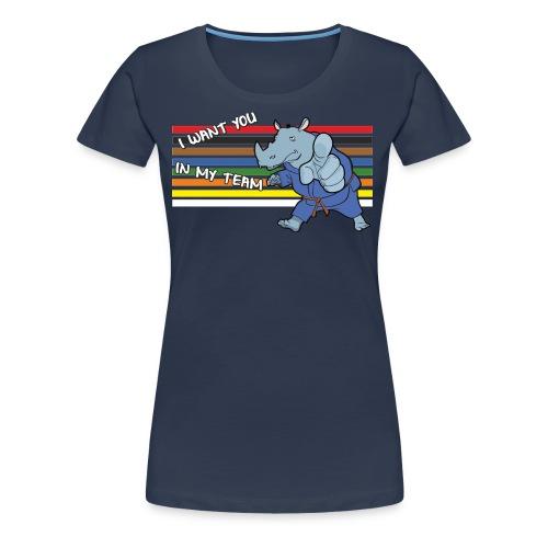 In my team - T-shirt Premium Femme
