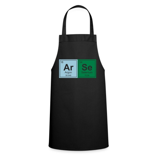 Geeky ARSE Periodic Elements - Cooking Apron