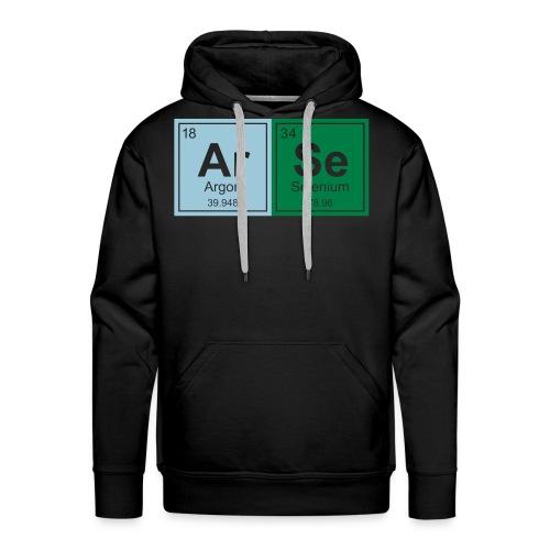 Geeky ARSE Periodic Elements - Men's Premium Hoodie