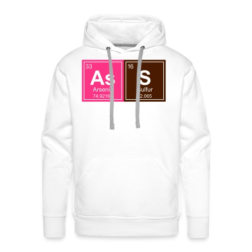Geeky Ass Periodic Elements - Men's Premium Hoodie