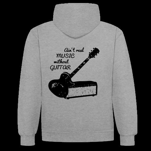 Rock & roll - Sweat-shirt contraste