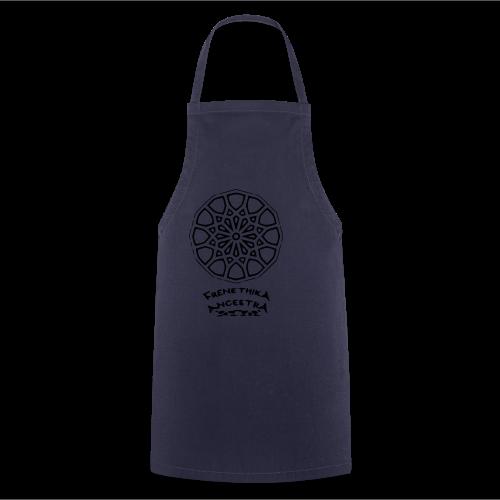 Rosace arabesque Frenethika Ancestra - Tablier de cuisine