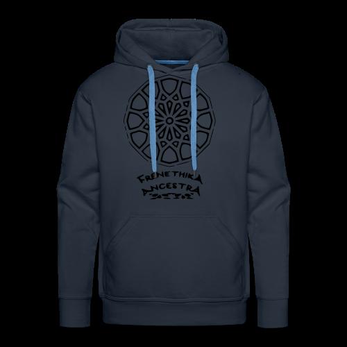 Rosace arabesque Frenethika Ancestra - Sweat-shirt à capuche Premium pour hommes