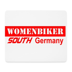 Womenbiker Tasse  - Mousepad (Querformat)