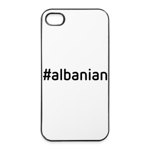 #albanian - iPhone 4/4s Hard Case
