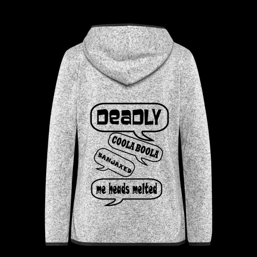 Deadly Dublin - Women's Hooded Fleece Jacket