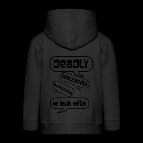 Deadly Dublin - Kids' Premium Zip Hoodie