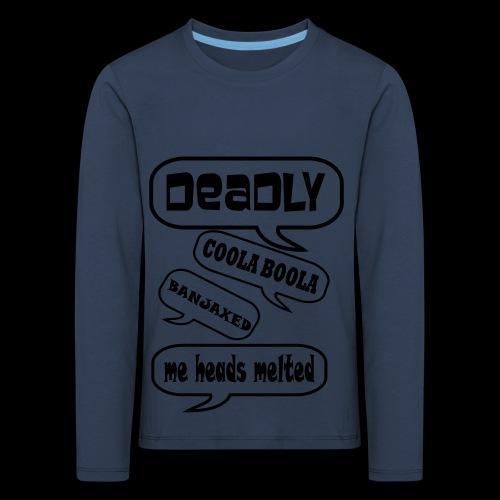 Deadly Dublin - Kids' Premium Longsleeve Shirt