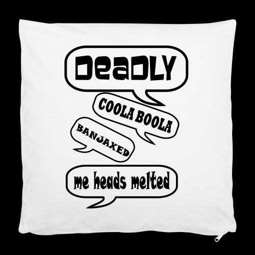 "Deadly Dublin - Pillowcase 16"" x 16"" (40 x 40 cm)"