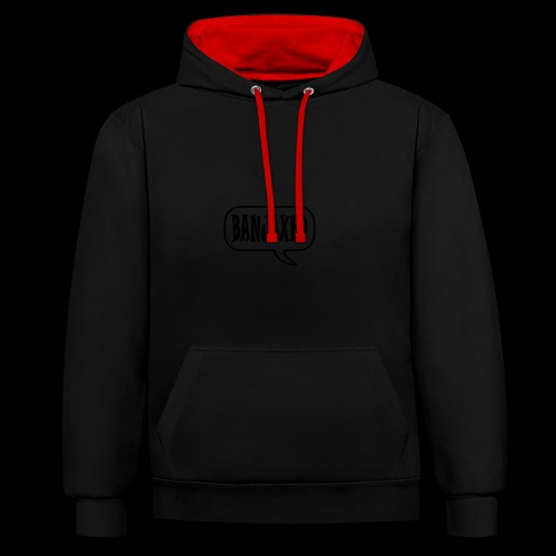 Banjaxed - Contrast Colour Hoodie