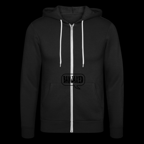Banjaxed - Unisex Hooded Jacket by Bella + Canvas