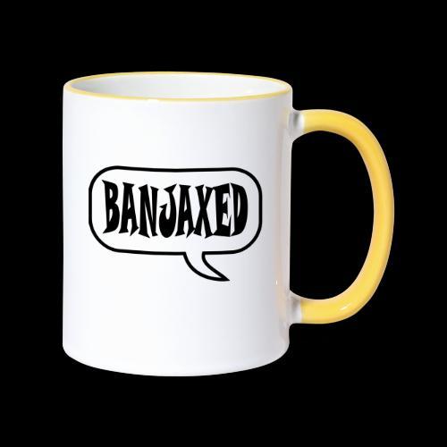 Banjaxed - Contrasting Mug