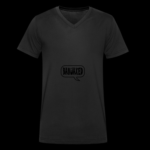 Banjaxed - Men's Organic V-Neck T-Shirt by Stanley & Stella