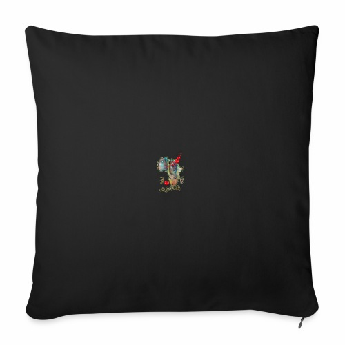 I love Africa - Sofa pillowcase 17,3'' x 17,3'' (45 x 45 cm)