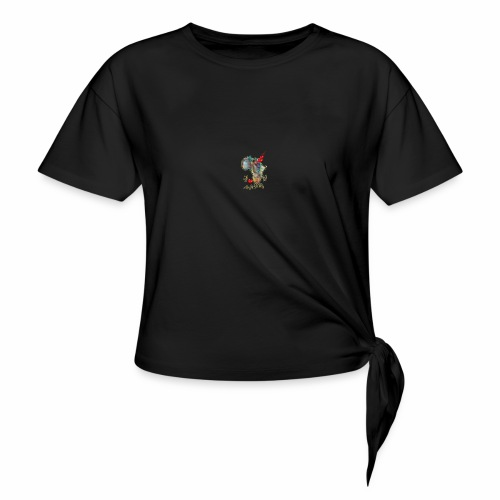 I love Africa - Knotted T-Shirt