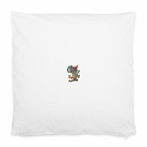 "I love Africa - Pillowcase 16"" x 16"" (40 x 40 cm)"