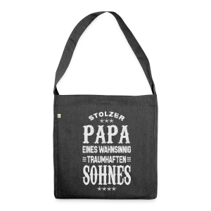 Stolzer Papa - Schultertasche aus Recycling-Material