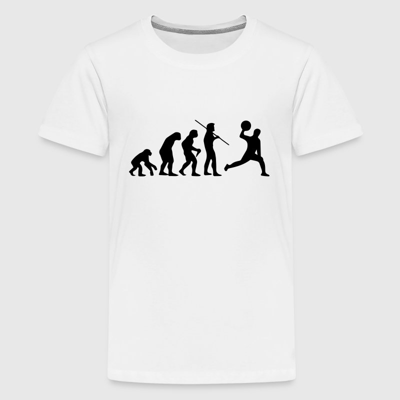 DODGEBALL EVOLUTION! Shirts - Teenage Premium T-Shirt