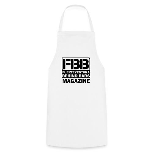 FBB LOGO MEN'S T-SHIRT (WHITE) - BLUE PRINT - Cooking Apron