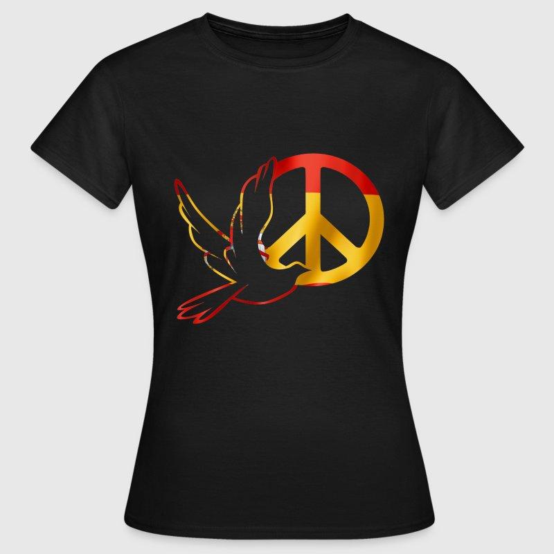paix espagne symbole Tee shirts - T-shirt Femme