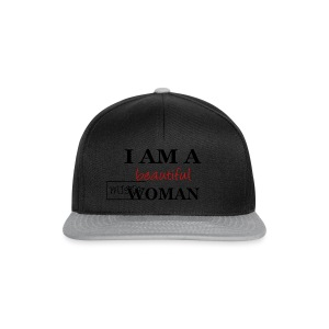 Beautiful Woman Tshirt - Snapback Cap