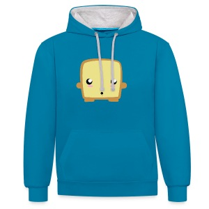 Surprised Toast Tee shirts - Sweat-shirt contraste