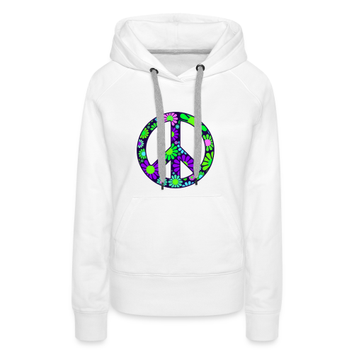 Peace Symbol Womens - Women's Premium Hoodie