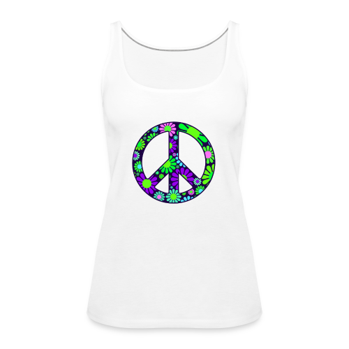 Peace Symbol Womens - Women's Premium Tank Top