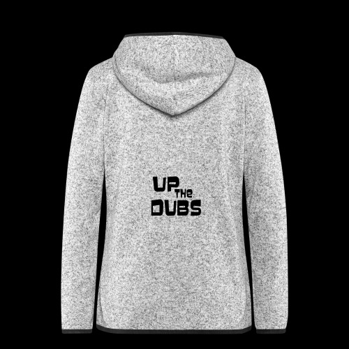 Up the Dubs - Women's Hooded Fleece Jacket