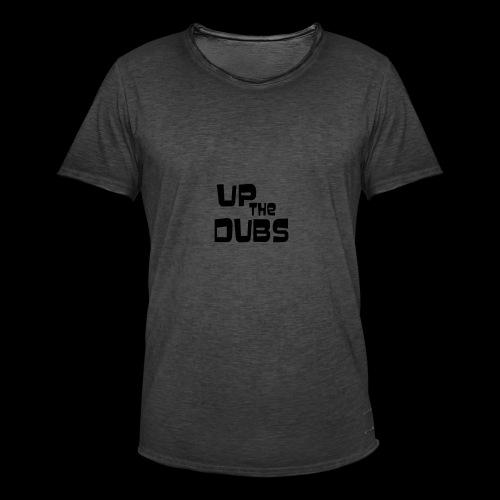 Up the Dubs - Men's Vintage T-Shirt