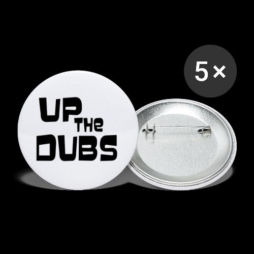 Up the Dubs - Buttons small 1''/25 mm (5-pack)