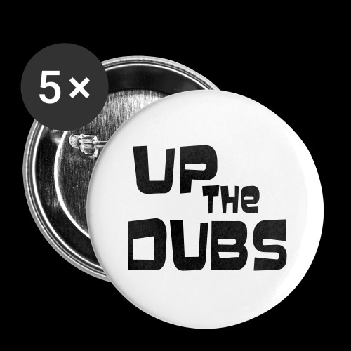 Up the Dubs - Buttons small 25 mm