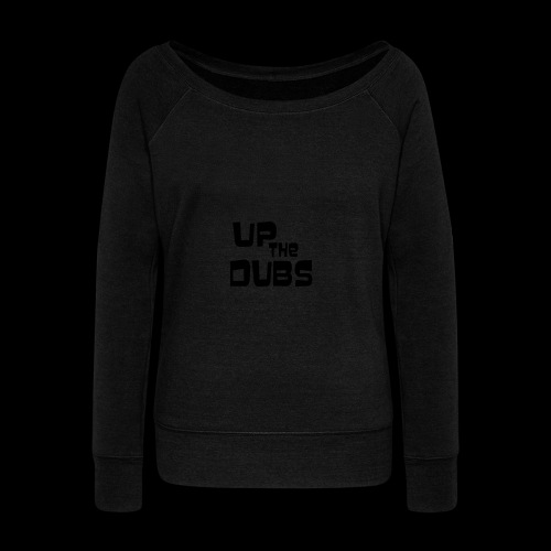 Up the Dubs - Women's Boat Neck Long Sleeve Top