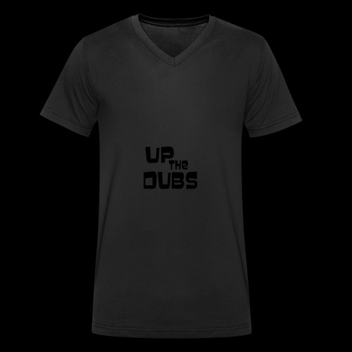 Up the Dubs - Men's Organic V-Neck T-Shirt by Stanley & Stella