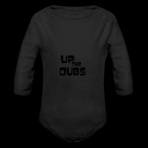 Up the Dubs - Organic Longsleeve Baby Bodysuit