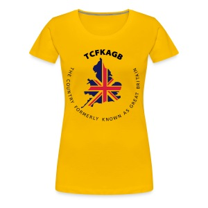 New England Union Jack - Bright Shirts Tops - Women's Premium T-Shirt