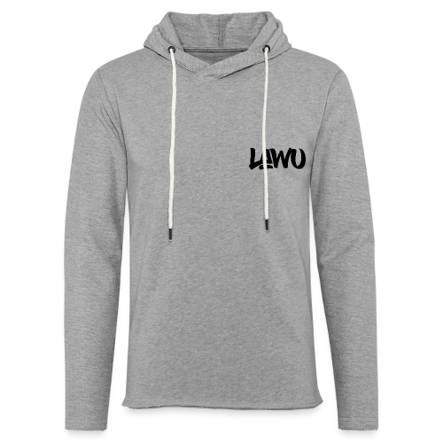 LAWU / JUNE EDITION - Sweat-shirt à capuche léger unisexe