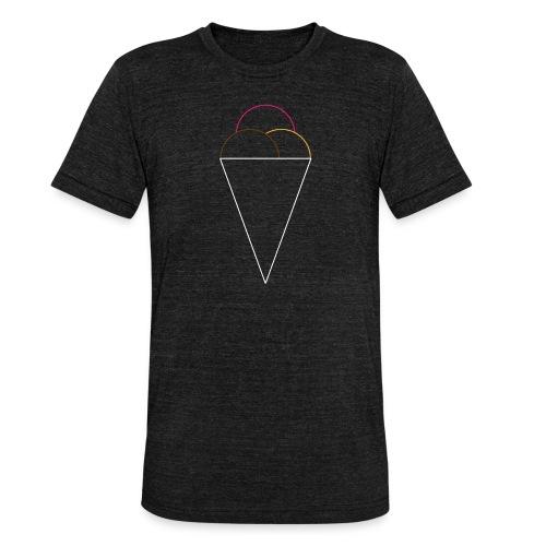ice.cream T-Shirt - Unisex Tri-Blend T-Shirt von Bella + Canvas