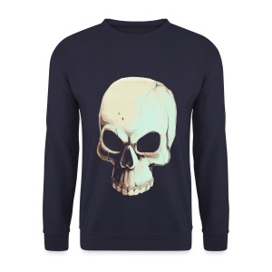Light Alpha Skull Men's T-shirt - Men's Sweatshirt