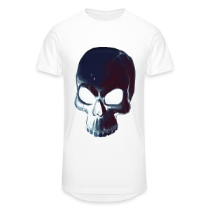 Dark Alpha Skull Men's premium T-shirt - Men's Long Body Urban Tee