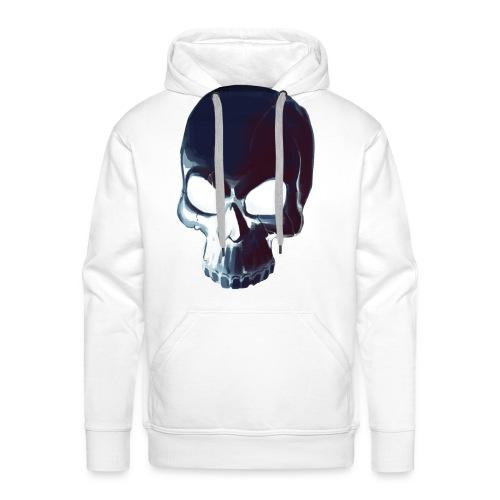 Dark Alpha Skull Men's premium T-shirt - Men's Premium Hoodie