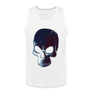 Dark Alpha Skull Men's premium T-shirt - Men's Premium Tank Top