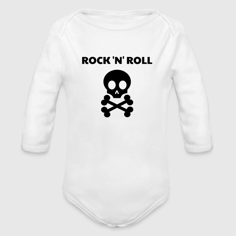 Rock / Metal / Punk / Rock 'n' Roll Babybody - Økologisk langermet baby-body