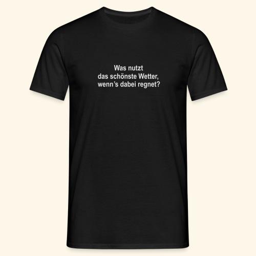 spassprediger.de presents: Wetter - Männer T-Shirt