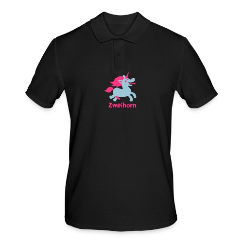 Männer Tasse Zweihorn - Männer Poloshirt