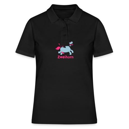Männer Tasse Zweihorn - Women's Polo Shirt