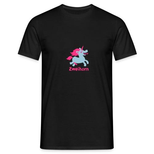 Männer Tasse Zweihorn - Männer T-Shirt