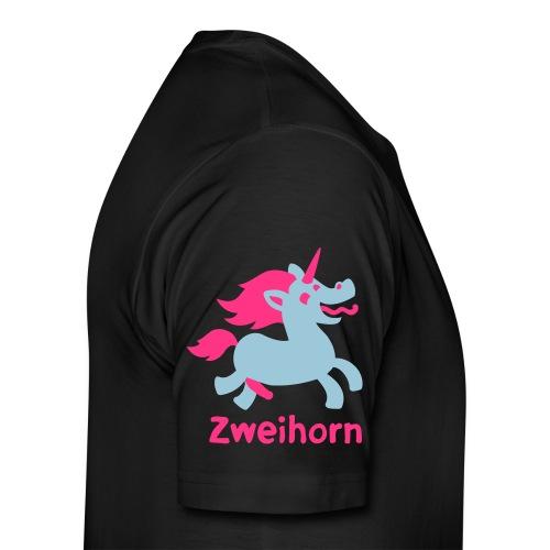 Männer Tasse Zweihorn - Männer Premium T-Shirt
