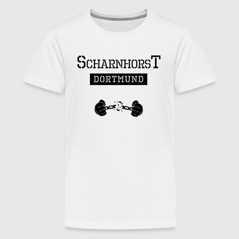 Ghetto-Shirt Dortmund Scharnhorst - Teenager Premium T-Shirt